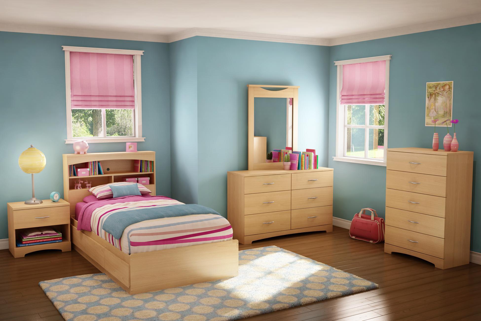 Copley Twin Mates 9 Piece Bedroom Set - Walmart.com