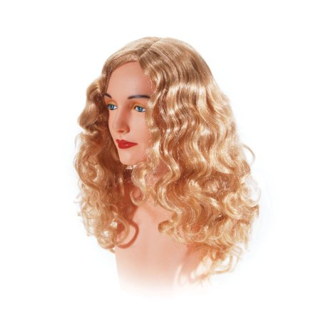 Star Power Women Superstar Wavy Costume Wig, Blonde, One Size for $<!---->