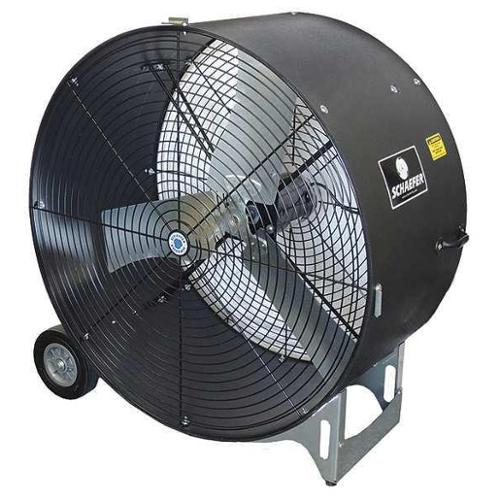 "SCHAEFER 42"" Mobile Air Circulator, 10,900/16,600 cfm, GVKM42-2-B-O"