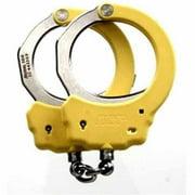 ASP Pink Identifier Chain Handcuffs, Steel