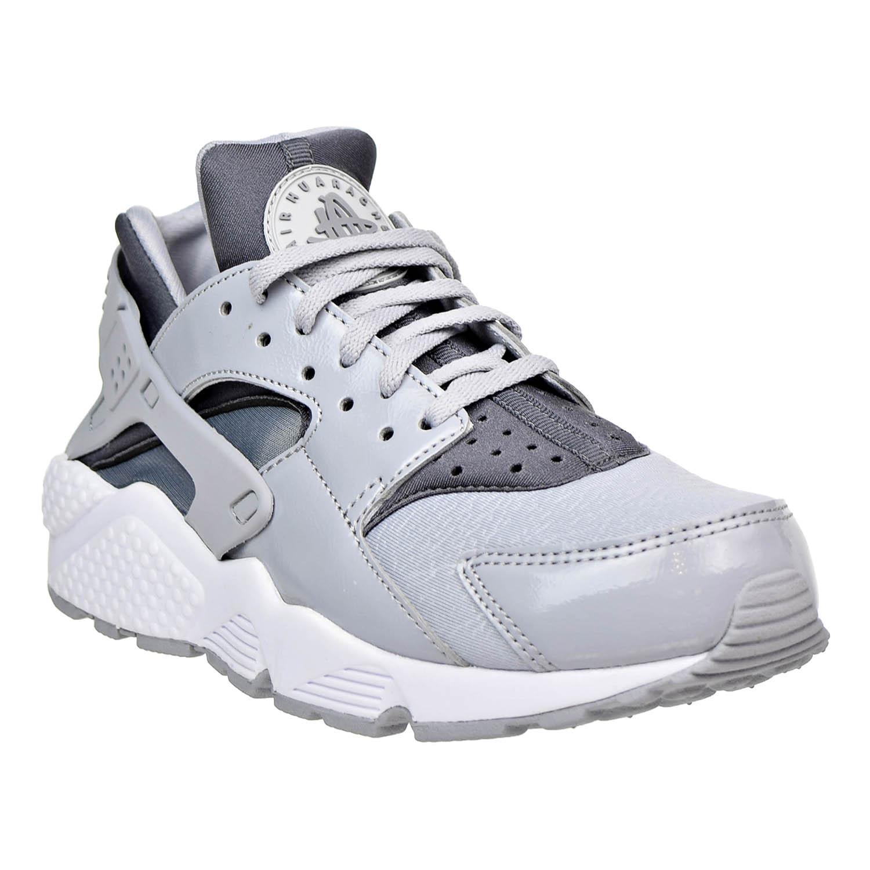 Nike Air Huarache Grey/Cool Run Womens Shoes Wolf Grey/Cool Huarache Grey-Black 634835-023 2f2d2d