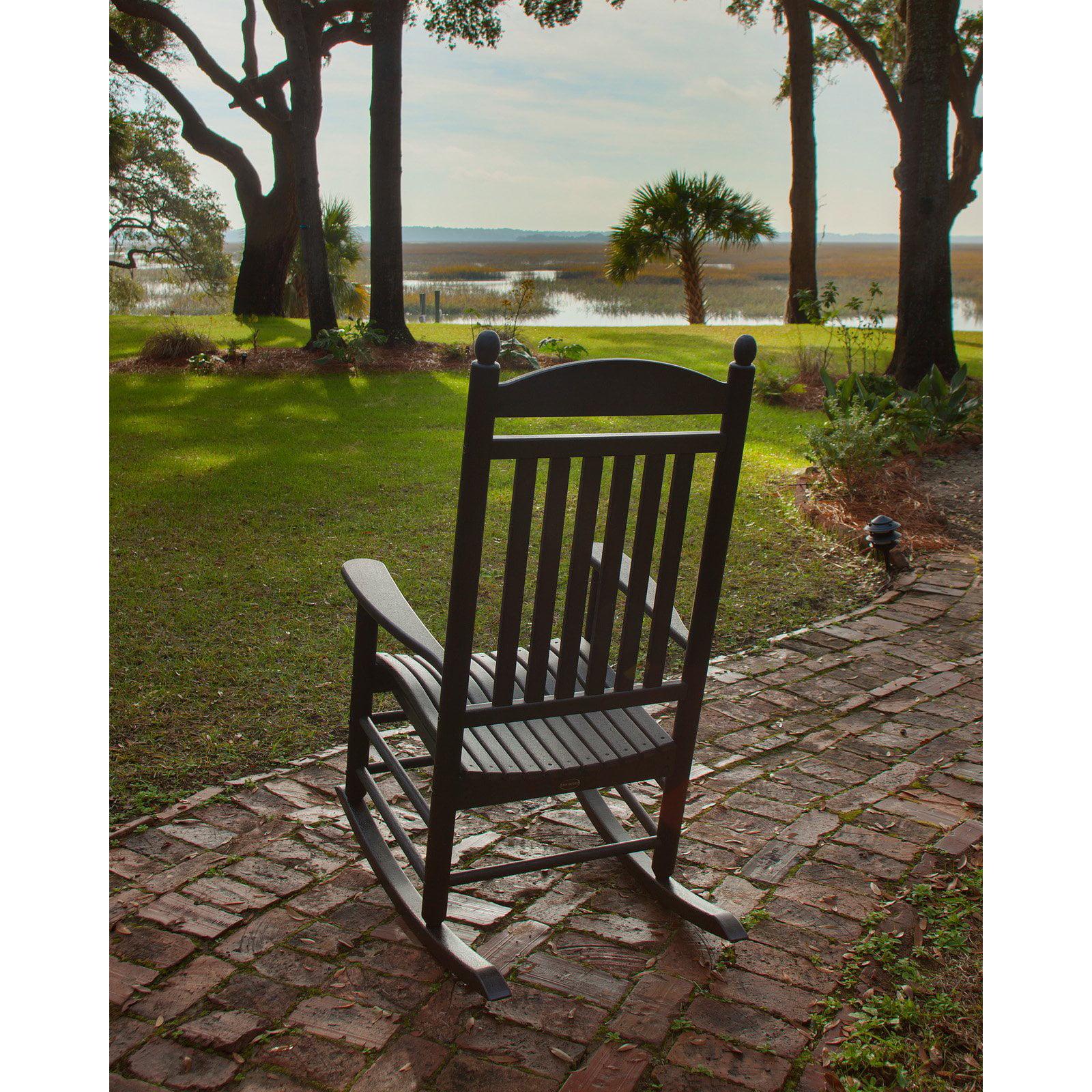 POLYWOOD® Jefferson Recycled Plastic Rocking Chair - Walmart.com