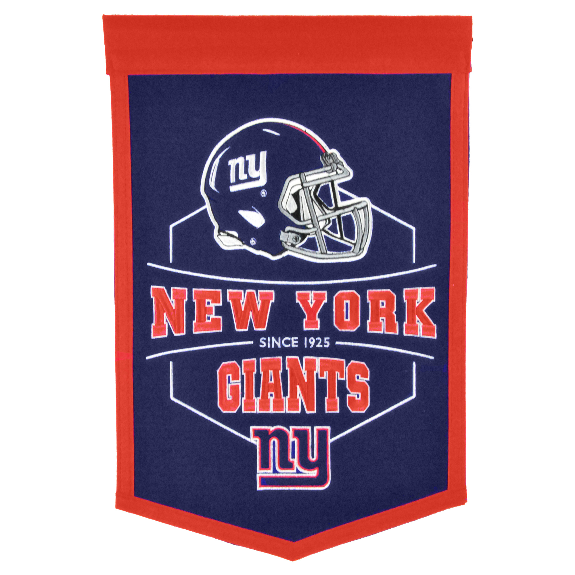 """New York Giants 12"""" x 18"""" Revolution Traditions Banner - No Size"""
