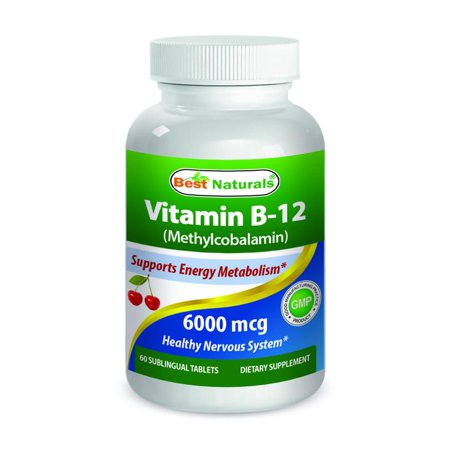 Best Naturals Vitamin B 12 As Methylcobalamin Methyl B12