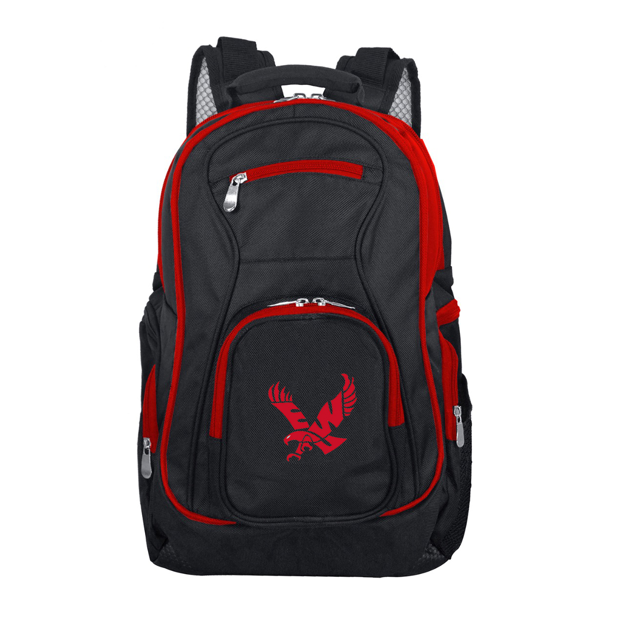 NCAA Eastern Washington Eagles Premium Laptop Backpack with Colored Trim