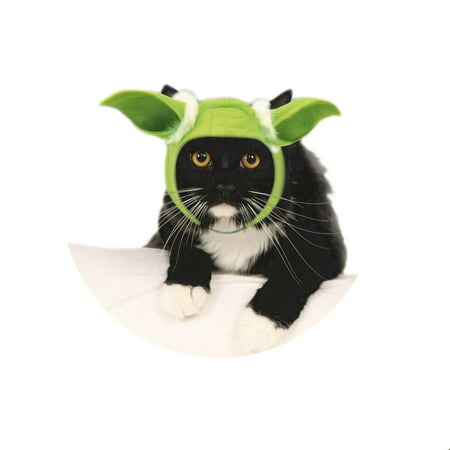 Star Wars Pet Yoda Ears- Cat Halloween Costume Accessory - Cat Halloween Costume Pattern