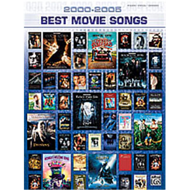 Alfred 00-25902 2000-2005 Best Movie Songs - Music Book