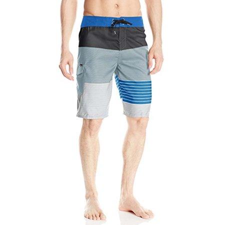 O'Neill Men's Lennox 32 Light Blue Boardshort Swim Trunks
