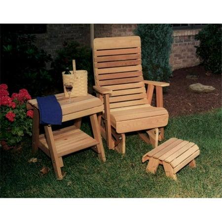 Creek Vine Designs WRF1230SETCVD Cedar Twin Ponds Rocking Glider Chair ...