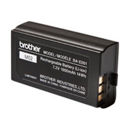 Brother BA-E001 - Printer battery - 1 x lithium ion - for P-Touch PT-750, PT-E300, PT-E550, PT-H300, PT-H500, PT-H75, PT-P750; P-Touch EDGE PT-P750