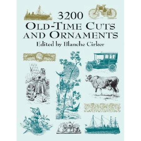 3200 Old-Time Cuts and Ornaments
