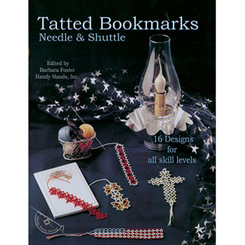 Handy Hands Tatted Bookmarks Needle & Shuttle