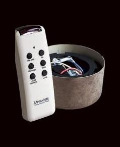 Fan Remote Control With White Finish by