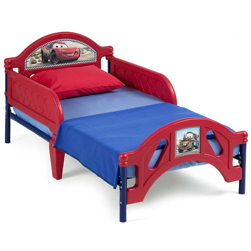 Disney Pixar Cars, Lightning McQueen Toddler Bed