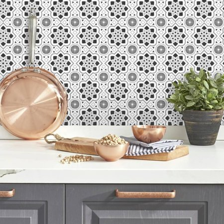 Tile Decals (Spanish Tiles Peel and Stick Giant Wall Decals )