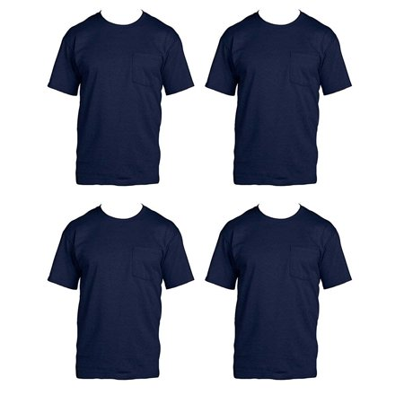 55ccde36ad4 Fruit of the Loom - Fruit of the Loom Men s 4-Pack Pocket Crew-Neck ...