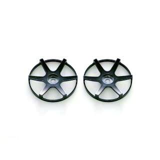 Integy RC Toy Model Hop-ups WDCN06BP Wheel Disc Concave 6 Spokes (2pcs)