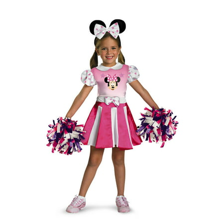 MINNIE MOUSE CHEERLEADER 2T - Spartan Cheerleaders Snl Costume