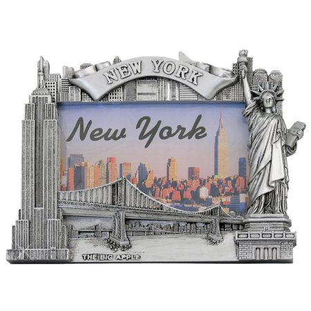 Skyline Framed (Silver NY Skyline Photo Frame)