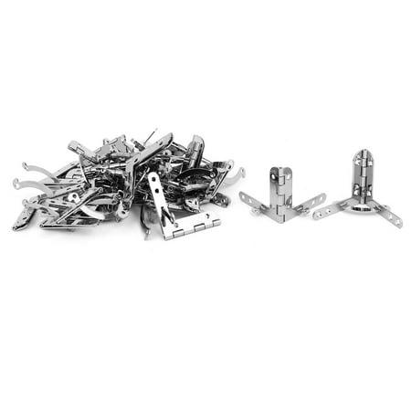 Cas bijoux bois Bo te cadeau 90° cloche charnière à ressort Soutien 30pcs - image 3 de 3