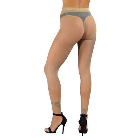 Athena - Seamless Sheer Pantyhose - True seamless nylons stockings pantyhose with no seam sheer and sexy - - Pantyhose With Designs