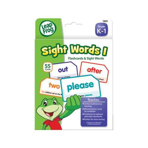 LeapFrog Sight Words 1 Flash Cards