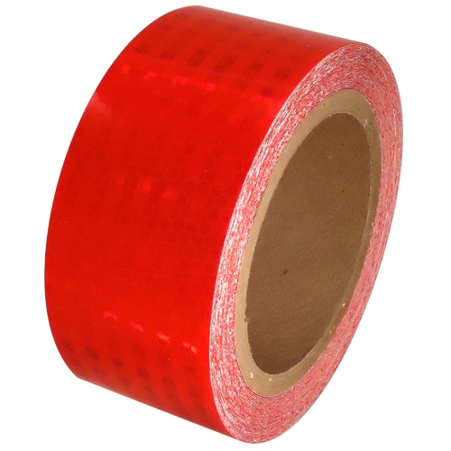 2 inch x 30 ft Red Super Bright High Intensity Reflective Tape