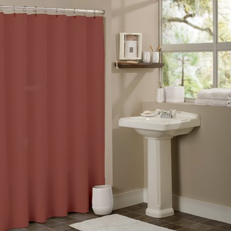 Sweet Home Collection Anti-Mildew Vinyl Shower Curtain Liner with Metal Grommets