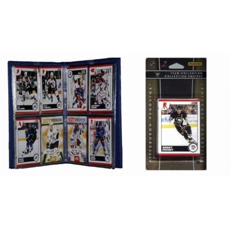 NHL Pittsburgh Penguins Licensed 2010 Score Team Set and Storage Album - Costume Stores Pittsburgh