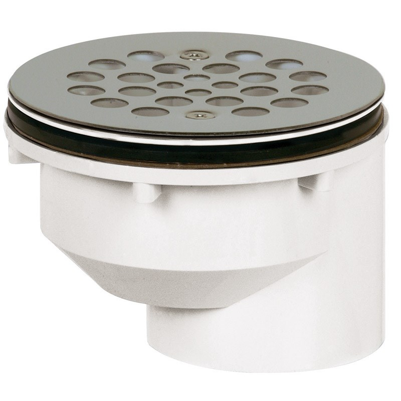 """Sioux Chief Shower Drain Strainer Pvc 2 """" by Sioux Chief"""