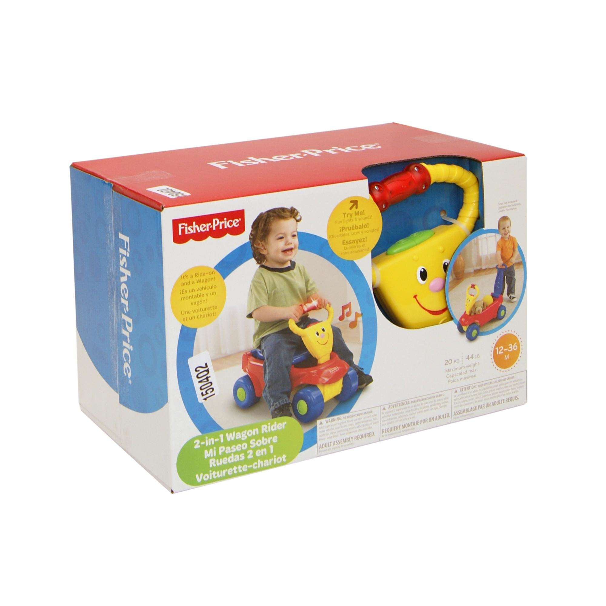 Fisher Price 2 in 1 Wagon Rider Ride Boys Walmart