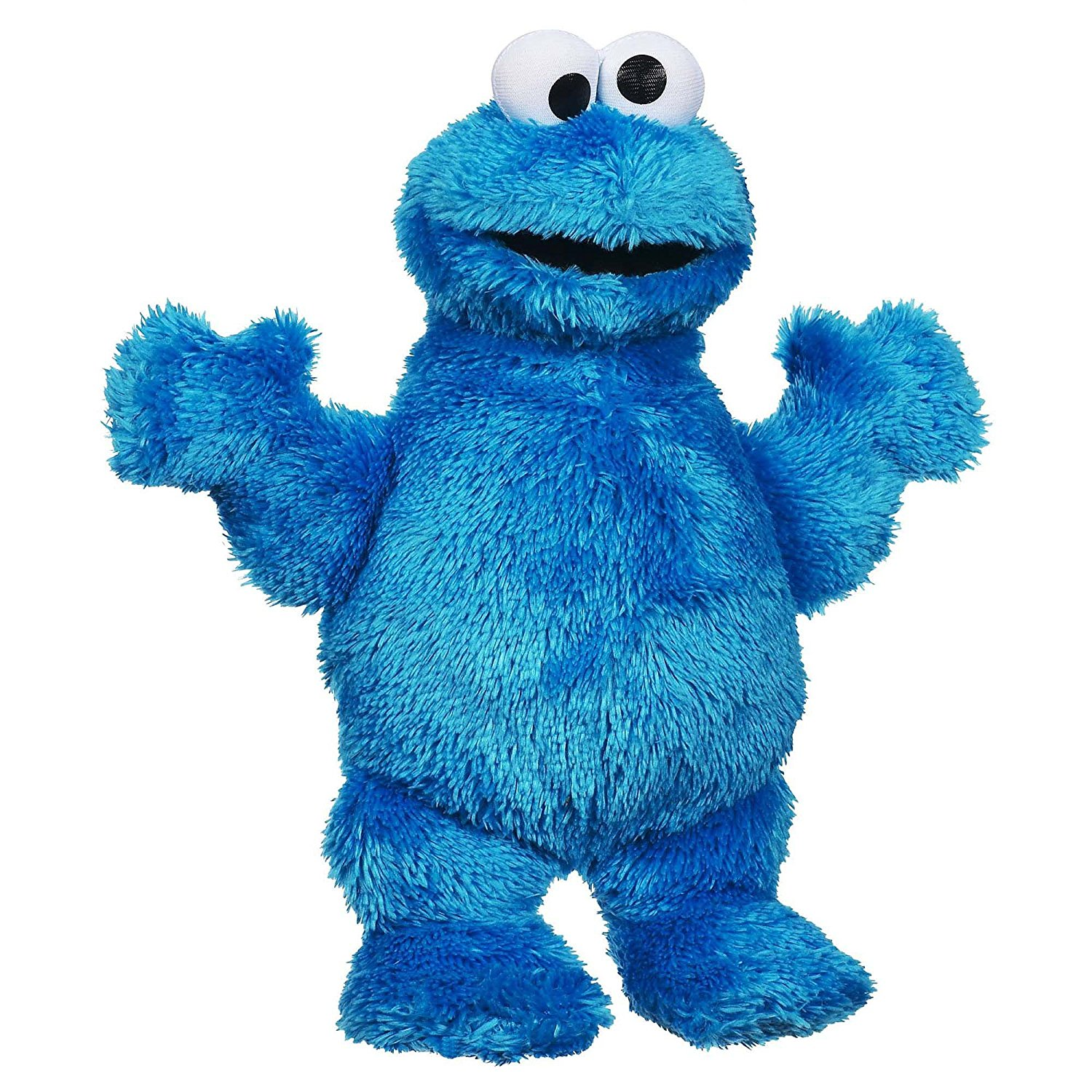 Playskool Let's Cuddle Cookie Monster Plush, Little ones will love to hug and snuggle their favorite Sesame... by