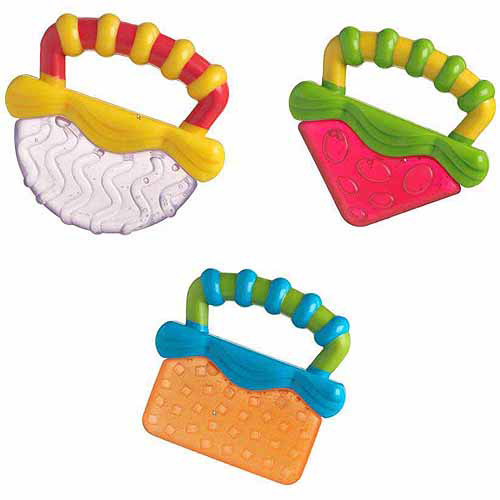 Playgro Tropical Teether, (Assorted/items may vary)