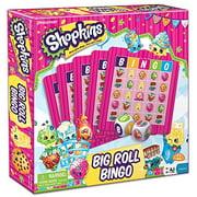 Games - Pressman Toy - Shopkins Big Roll Bingo    New 4052-06
