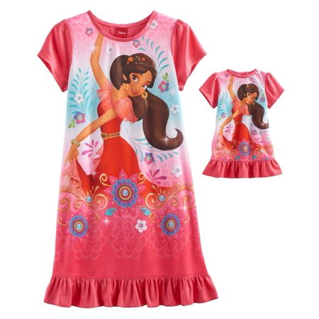 aa47b57ab78d Disney Elena Of Avalor Nightgown   Doll Nightgown - Girls