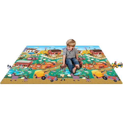 Prince Lionheart Play Mat, City/Farm