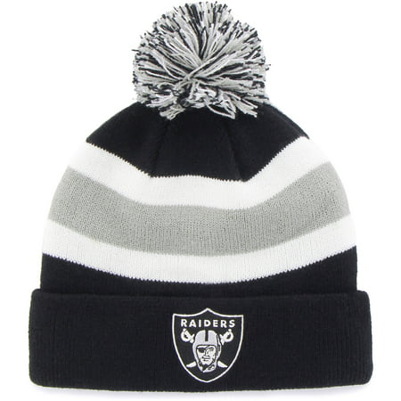 Oakland Raiders Revolution - 47 Brand  Oakland Raiders Breakaway Beanie Hat