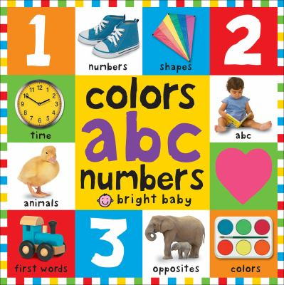 Colors, ABC, Numbers
