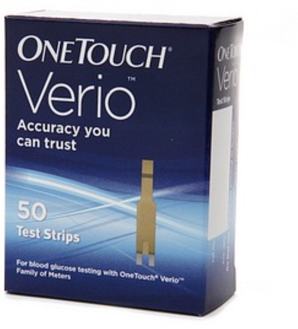 OneTouch Verio Test Strips 50 Each (Pack of 2)