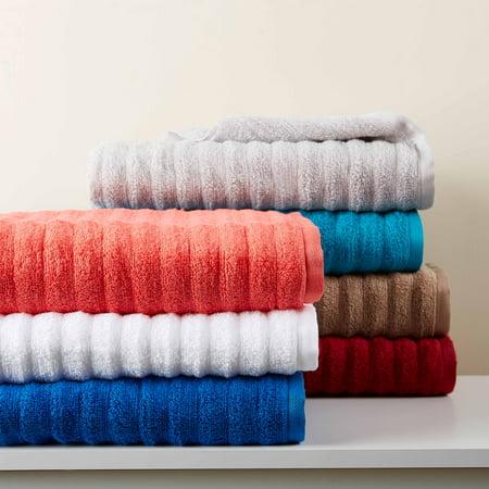 Giagni Towel - Mainstays Performance Texture 6-Piece Bath Towel Set