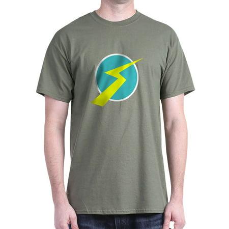 1390e290197 CafePress - CafePress - Wilbur Lightning T-Shirt - 100% Cotton T-Shirt -  Walmart.com