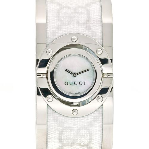Gucci Women's Twirl Watch Quartz Sapphire Crystal YA112419