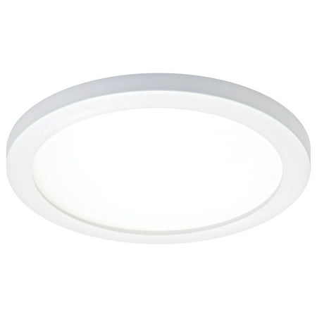 """Cooper Lighting SMD6R6930WH 6"""" Round White LED Ultra-Low Profile Surface Mounting Luminaire"""