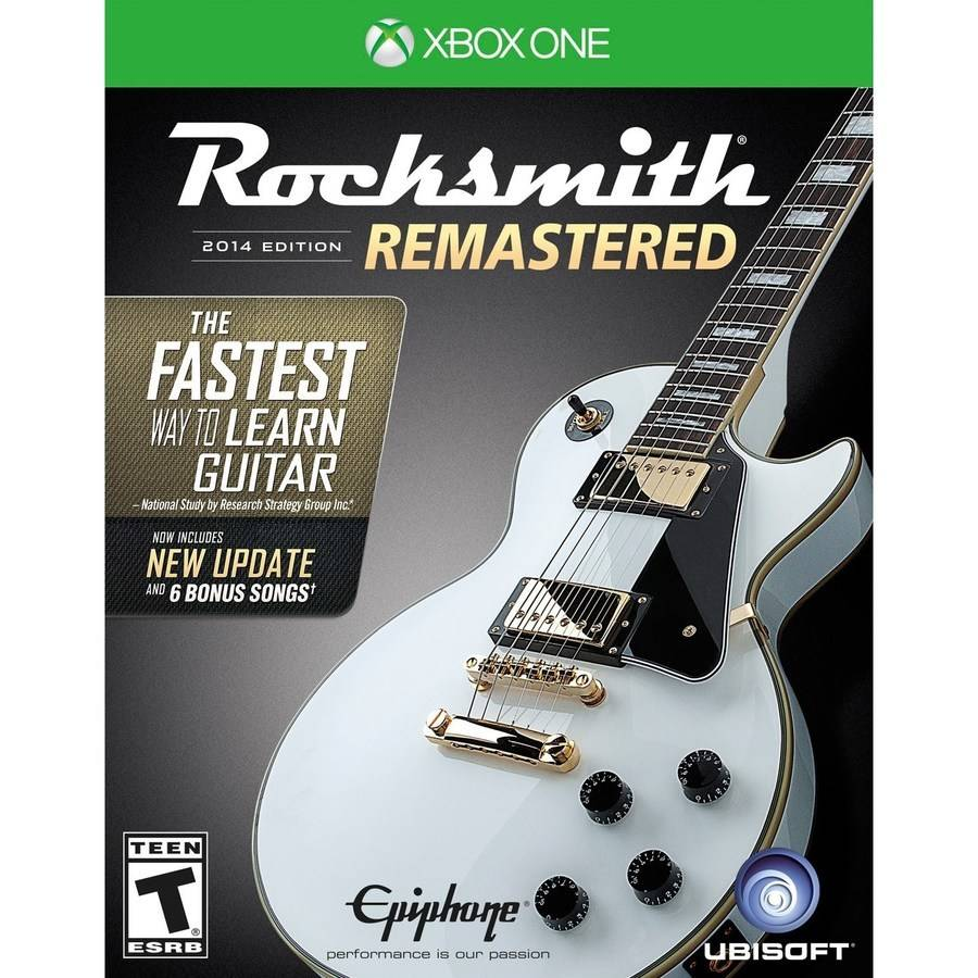 Rocksmith 2014 Remastered, Ubisoft, Xbox One, 887256024307