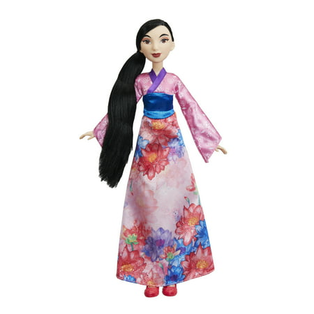 Skimmer 2 Slip - Disney Princess Royal Shimmer Mulan Doll, Ages 3 and up