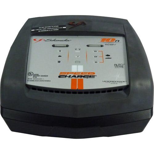 Schumacher Xc10 10 6 2 Amp Battery Charger Walmart Com