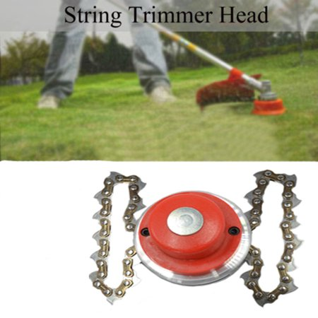 Trimmer Head Coil 65Mn Chain Brushcutter Garden Grass Trimmer for Lawn Mower