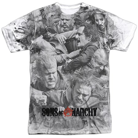 Sons Of Anarchy - Brawl - Short Sleeve Shirt - Small