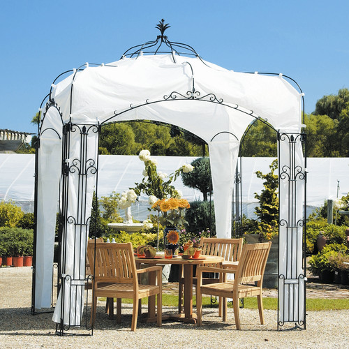 Achla Allegro Pavilion Pergola 8.5 Ft. W x 8.5 Ft. D Gazebo by Achla Outdoor