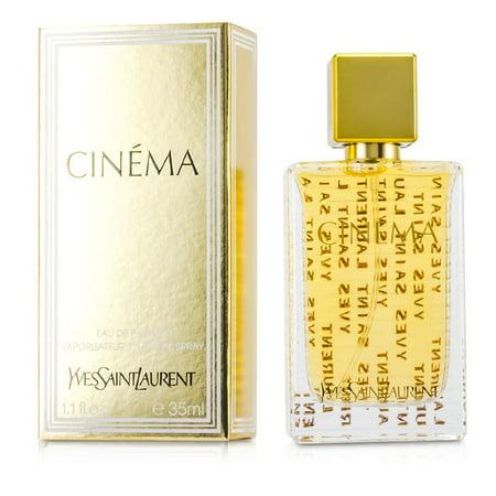 CINEMA Yves Saint Laurent 1.1 oz EDP eau de parfum Womens Spray Perfume 35ml (Yves Saint Laurent Jasmine Perfume)